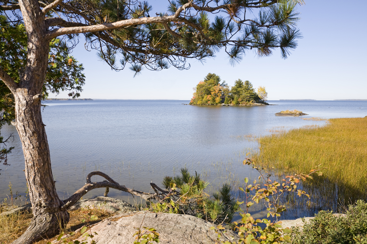Lake Nipissing Looking North