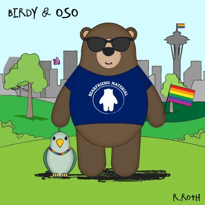 Birdy & Oso One-Shot: Happy Pride