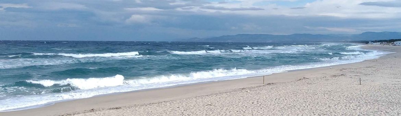 esempio di spiaggia bassa