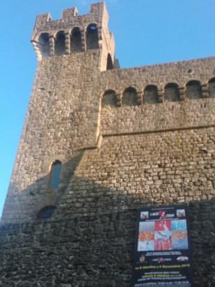 ALDOBRANDESCA FORTRESS, PIANCASTAGNAIO, TUSCANY (ITALY), COLORS OF AN APOCALYPSE SHOW BY ROBERTO ALBORGHETTI 2012