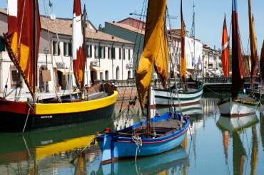 Cesenatico, Italy - Porto Canale designed by Leonardo da Vinci (1507) Photo Roberto Alborghetti