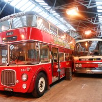 IN THE LAND OF ROBIN HOOD VISITING CREATIVE CORNERS AND THE IMPRESSIVE VINTAGE BUSES AND CARS AT BARTONS PLC INTERNATIONAL VENUE