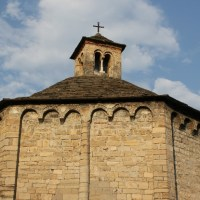 MY NEXT SOLO EXHIBIT IN THIS WONDERFUL ROMANESQUE BAPTISTERY ON LAKE COMO (LENNO, ITALY)