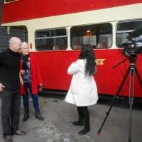"THE GHOST BUS / WONDERFUL NIGHT IN NOTTINGHAM (UK) FOR THE SHORT FILMS PREMIERE: ""A MEMORABLE EVENT"""