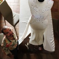 MITRANI YARDEN, THE WEDDING DRESS: MY CLOSE UP ON AN ARTISTIC HAND MADE CREATION  (CLIP # 1)