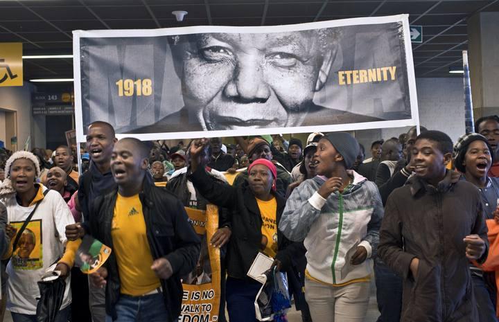 Nelson Mandela, 1918-Eternity