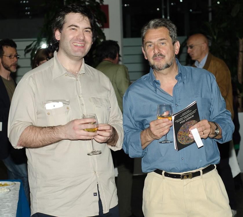 Prof. Alessandro Solbiati and me.