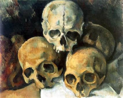 Paul_Cezanne_Piramide de craneos_1901