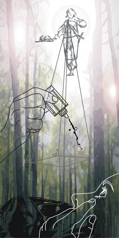 Pop Metafísico pintura Las peores perspectivas perspec-ti-veur