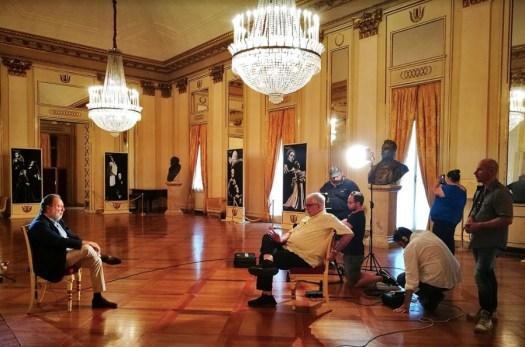 In viaggio con Luca Ronconi - Riccardo Chailly