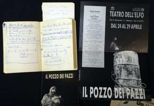 Documenti relativi a Il pozzo dei pazzi di Franco Scaldati