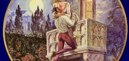 Romeo e Giulietta sul balcone