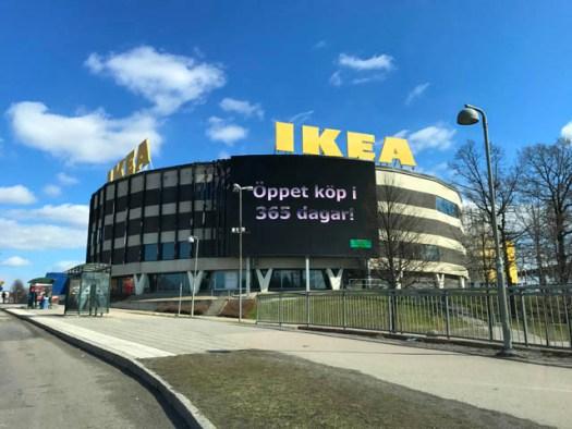 Lo stabilimento n.1 di Ikea, oggi a Stoccolma