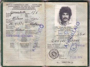 Franco Quadri identità