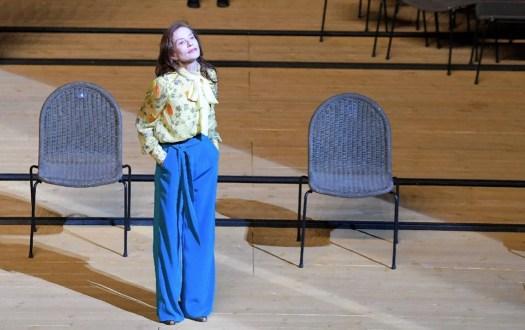 Isabelle Huppert - La Cerisaie - Il giardino dei ciliegi  - regia Tiago Rodrigues - Pompei Theatrum Mundi