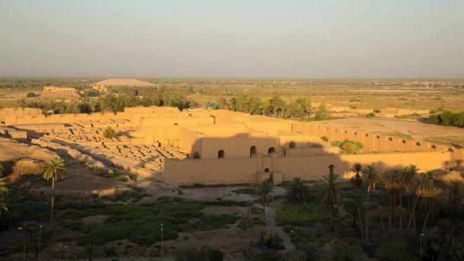 La antigua ciudad de Babilonia, que fue famosa por sus Jardines Colgantes, es declarada finalmente Patrimonio de la Humanidad
