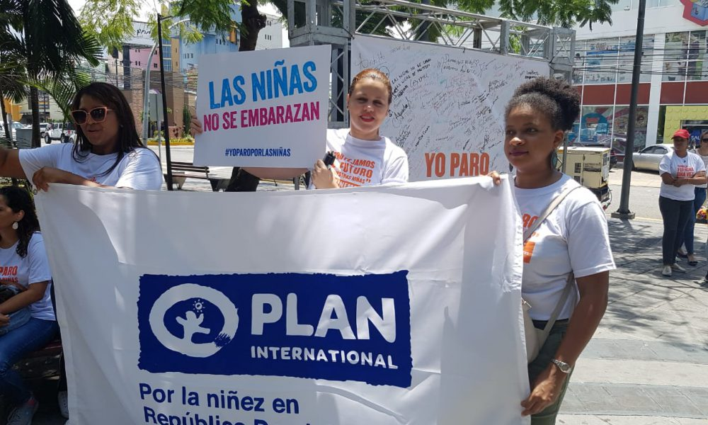 """Realizan campaña """"YO PARO POR LAS NIÑAS"""" para que se elimine el matrimonio infantil en el país"""