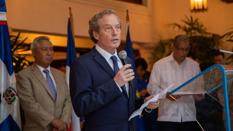 Embajador de Francia resalta papel de RD  en el Consejo de Seguridad de la ONU