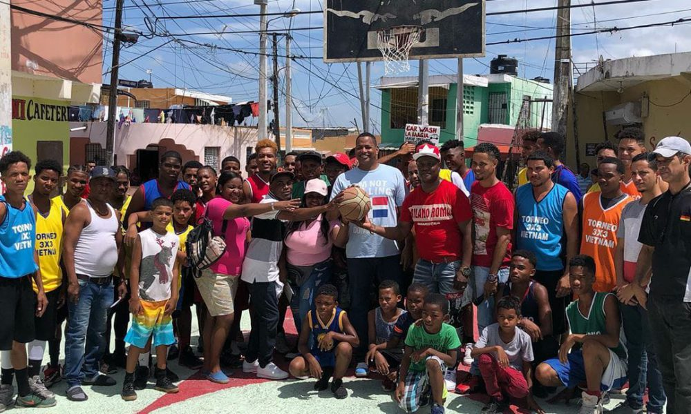 """""""Un peso por el techado"""", la campaña que busca ayudar un símbolo cultural y deportivo de Los Mina"""