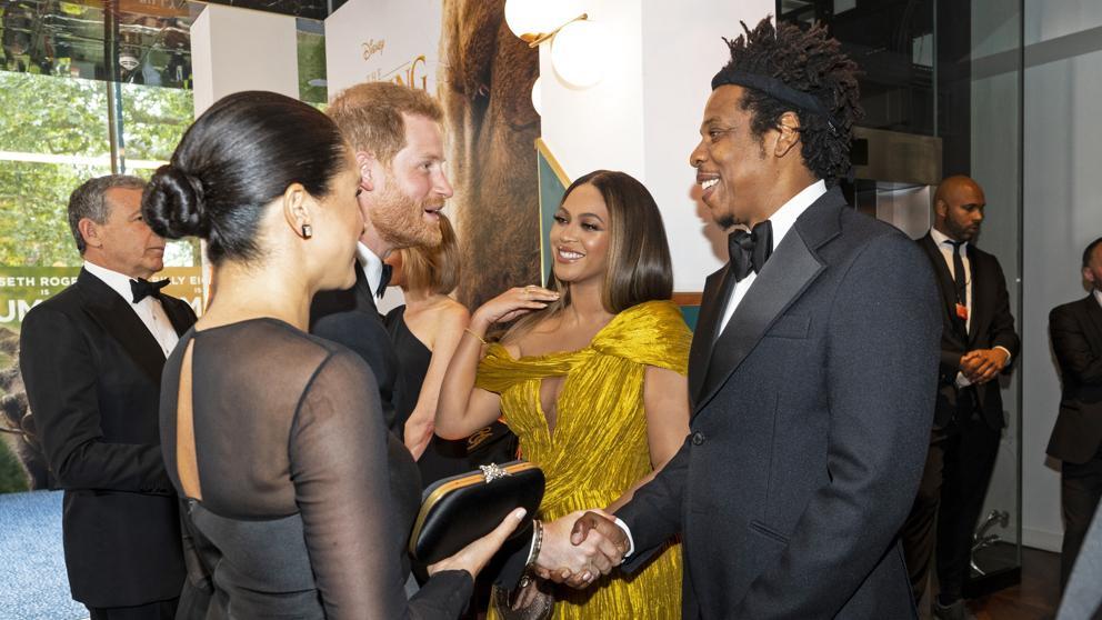 Meghan Markle coincide con Beyoncé