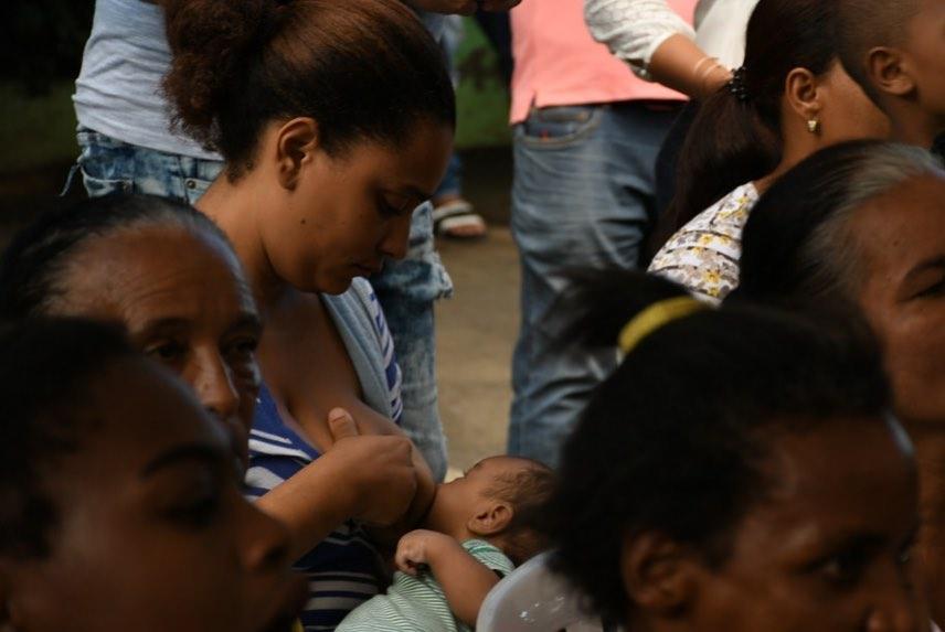 Concluye Semana Mundial de la Lactancia en Clínica Cruz Jiminian