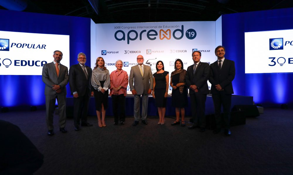 Banco Popular y Educa anuncian vigésimo tercera edición del Congreso Internacional Aprendo 2019