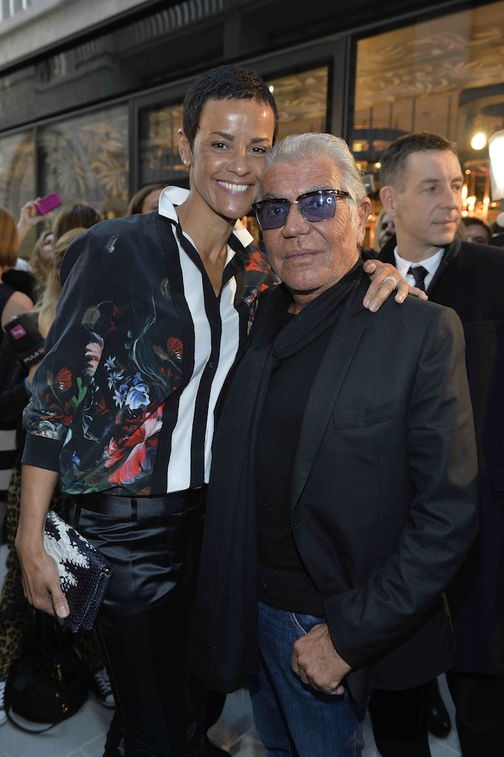 Nadege and Roberto Cavalli