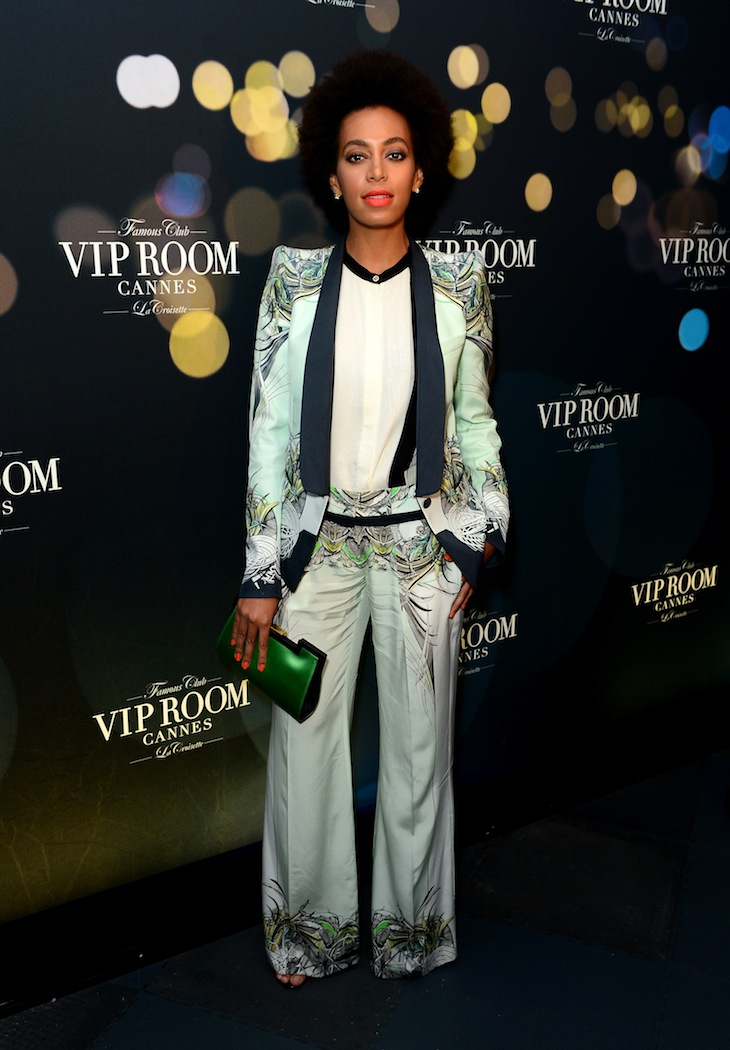 Solange Knowles in Roberto Cavalli