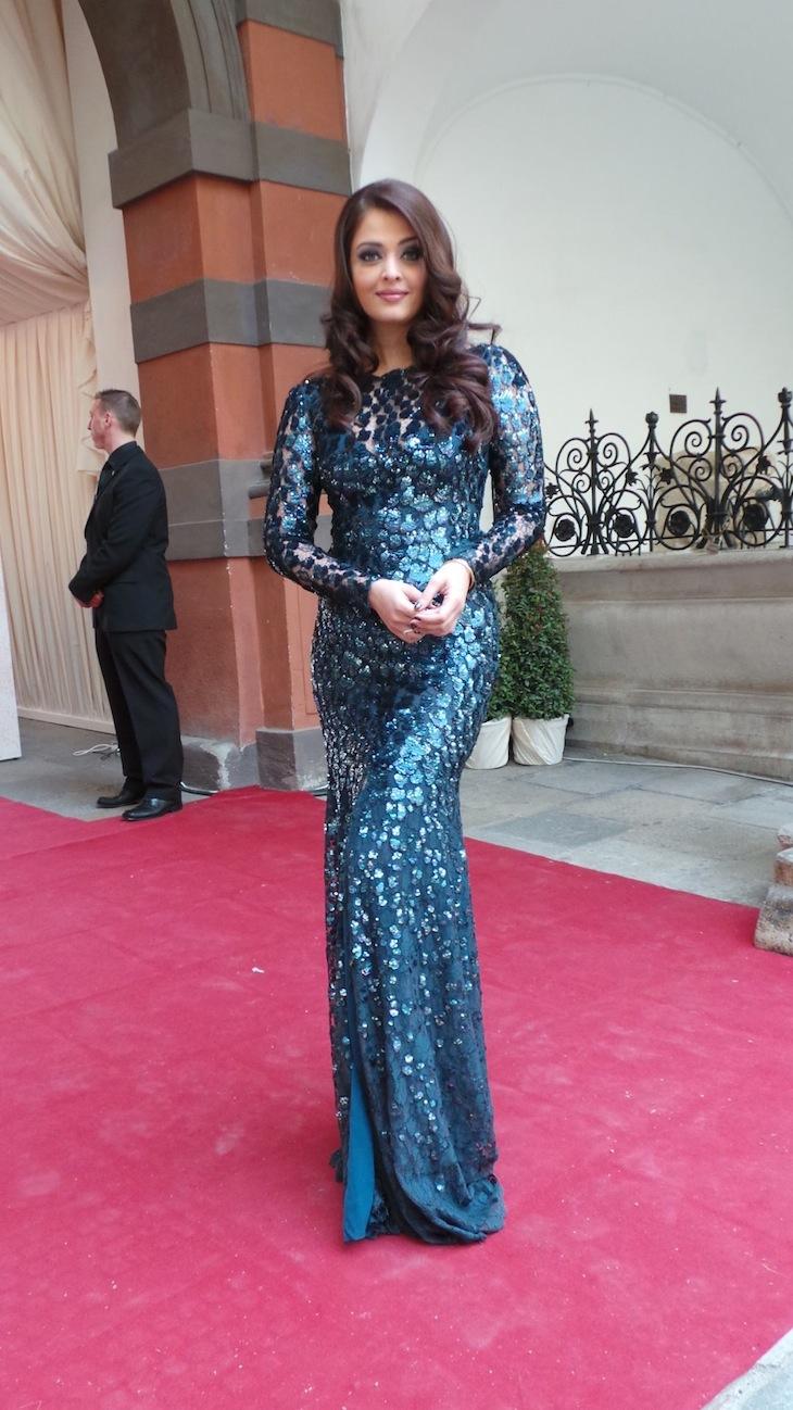 Aishwarya Rai in Roberto Cavalli@Life Ball 2013 Gala Dinner
