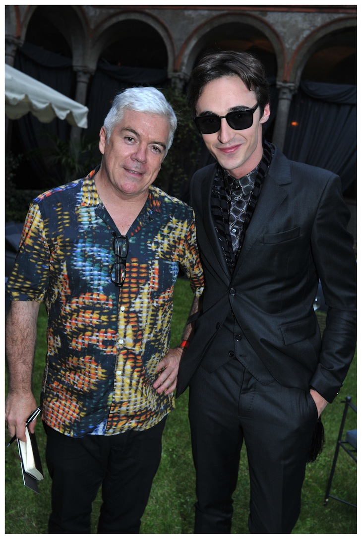 Daniele Cavalli and Tim Blanks@Style.com