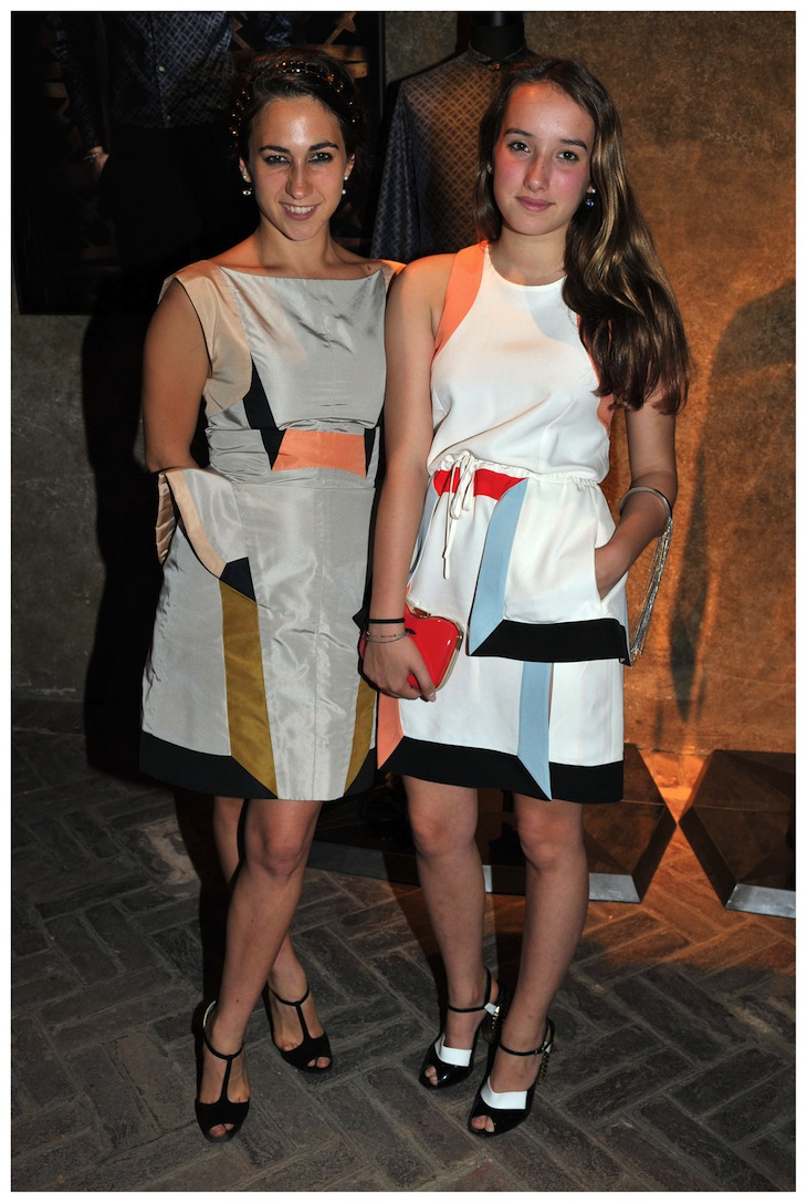 Delfina Delettrez Fendi and Leonetta Fendi