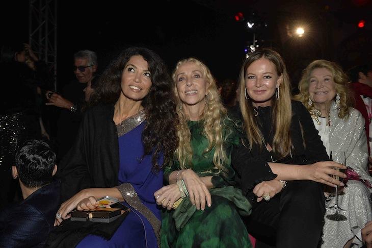 Afef Jnifer, Franca Sozzani, Eva Cavalli, Marta Marzotto