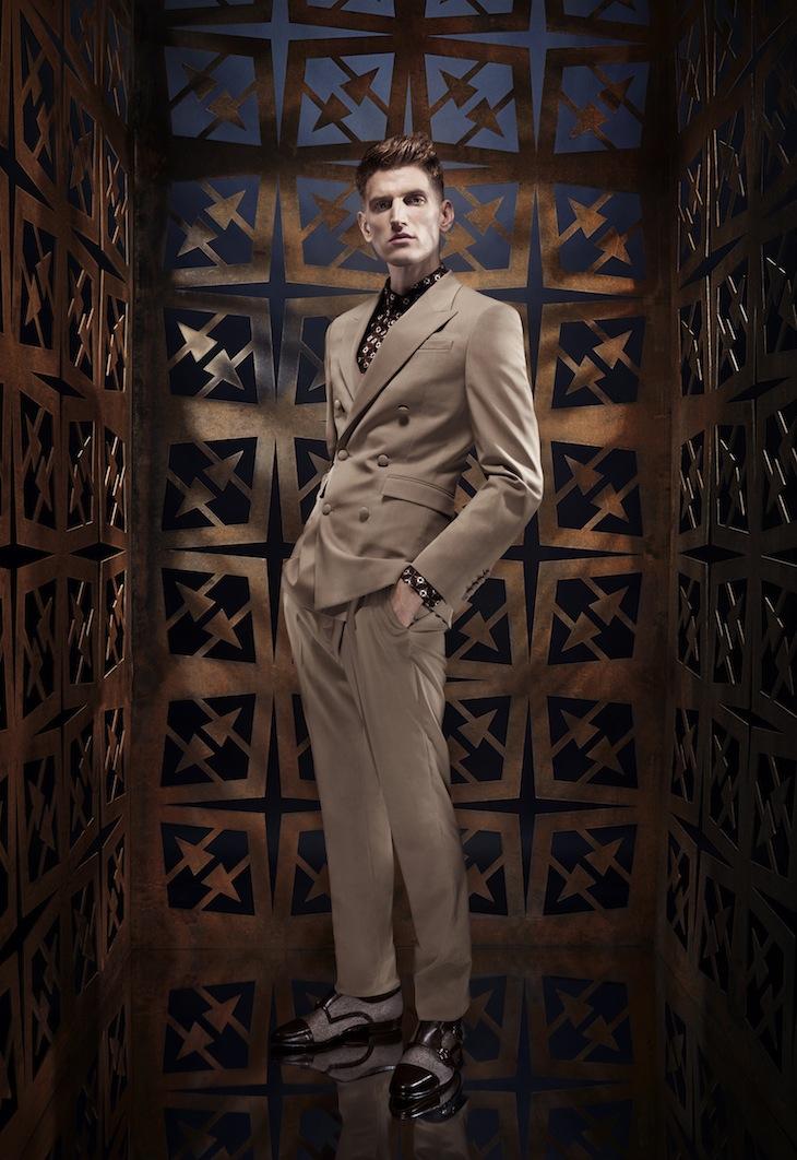 Roberto Cavalli Menswear SS14 #1