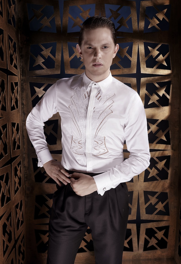 Roberto Cavalli Menswear SS14 #13