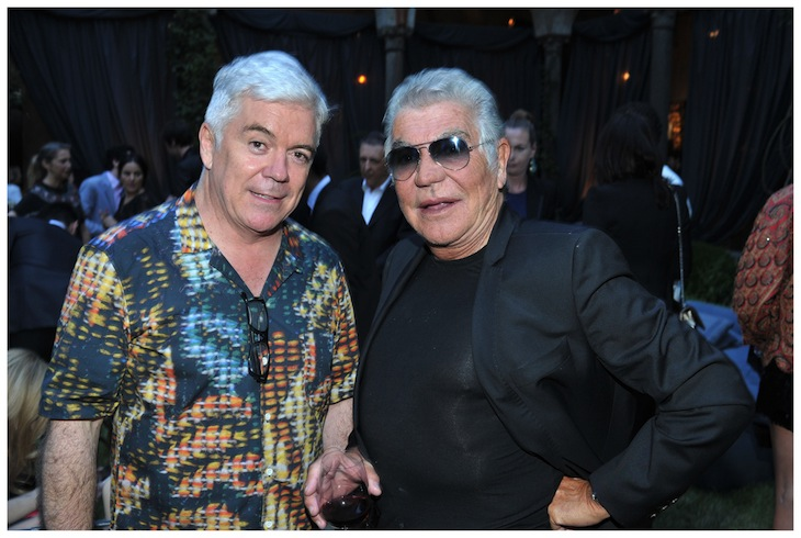 Roberto Cavalli and Tim Blanks@Style.com