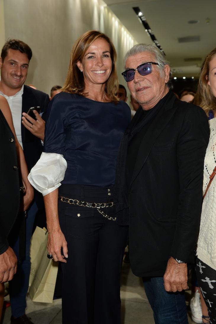 Cristina Parodi, Roberto Cavalli