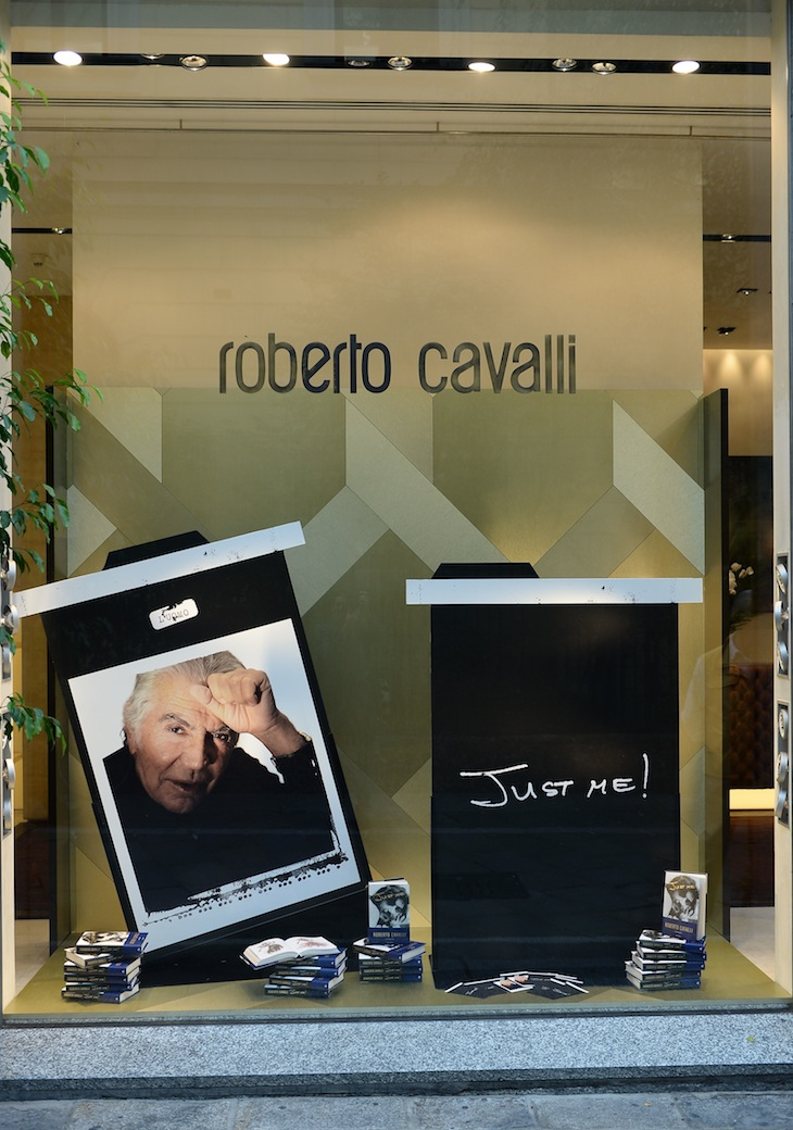 Roberto Cavalli Boutique Milan