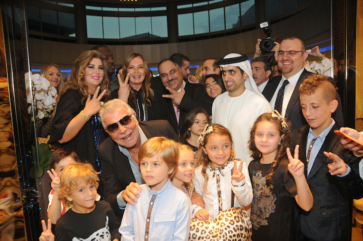 Roberto Cavalli,Eva Cavalli, Sheikh Mohammed bin Maktoum Al-Maktoum@Vogue Fashion Dubai Experience(2)