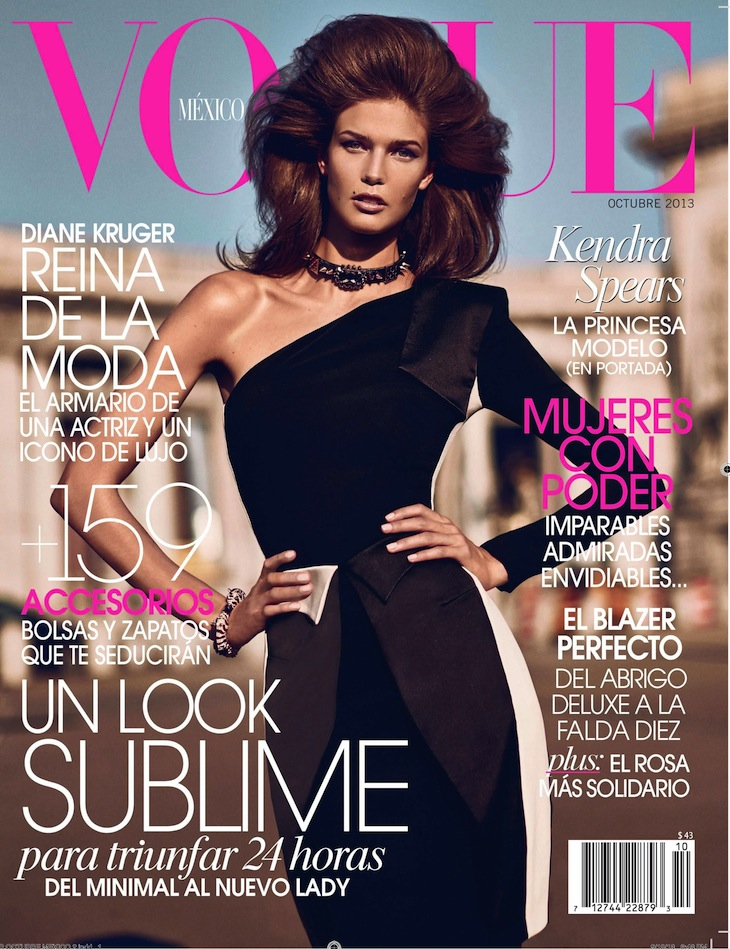 Vogue Mexico - October 2013