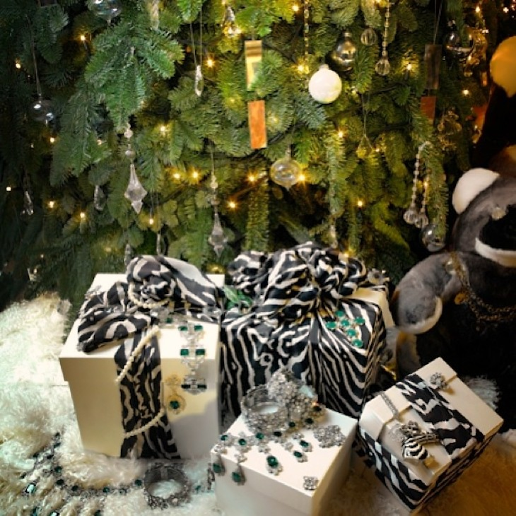 Zebra__silk_material_in__robertocavalli_present._In_the_Christmas_tree
