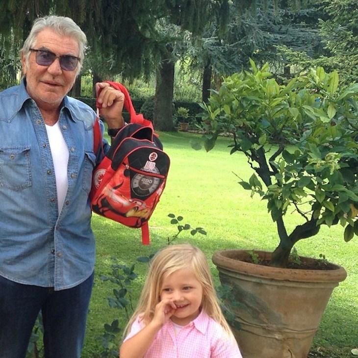 Roberto Cavalli with Maria Carla