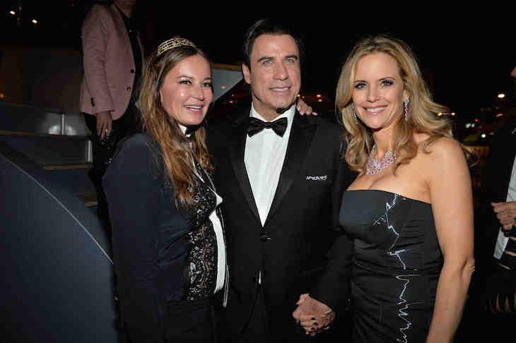Eva Cavalli, John Travolta, Kelly Preston
