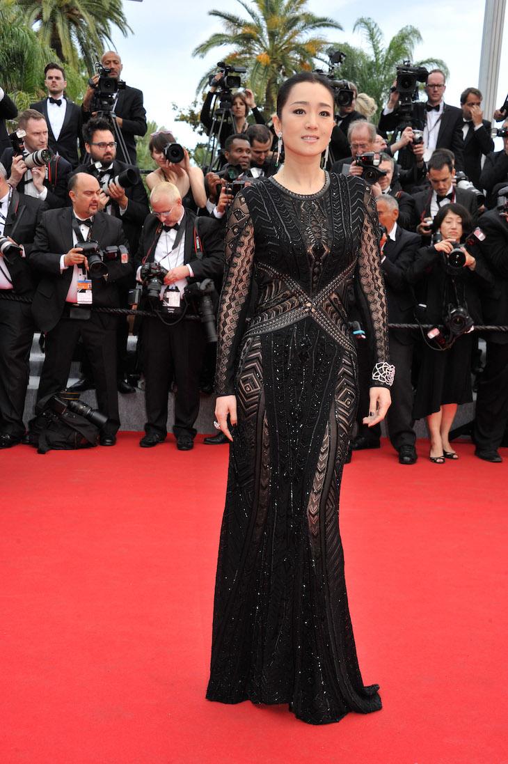 "67th Cannes Film Festival 2014, Red carpet film ""Grace of Monaco"".  Gong Li"