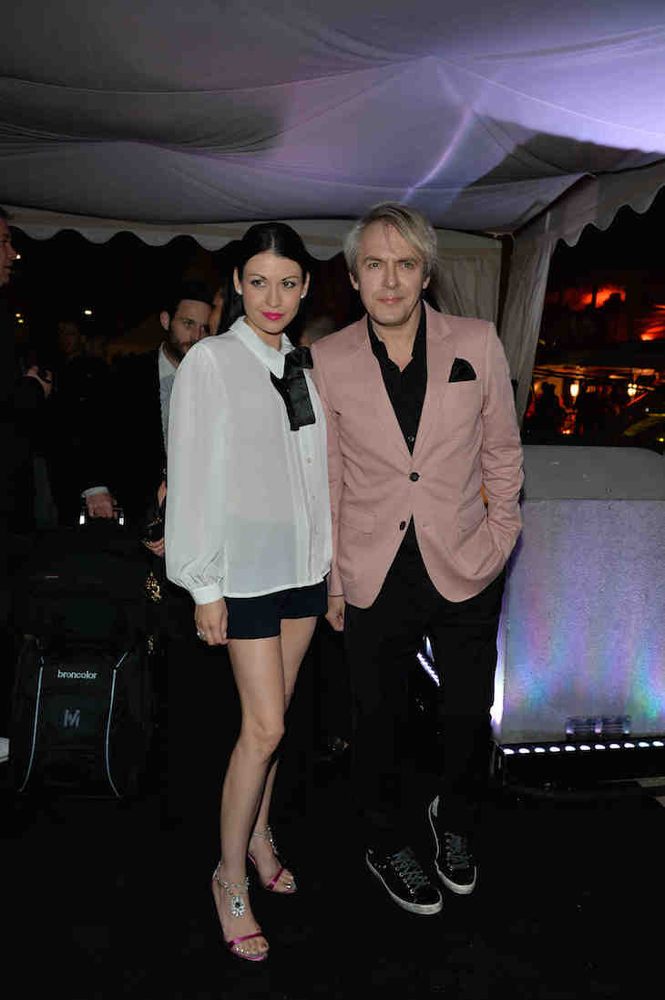 Nick Rhodes and Nefer