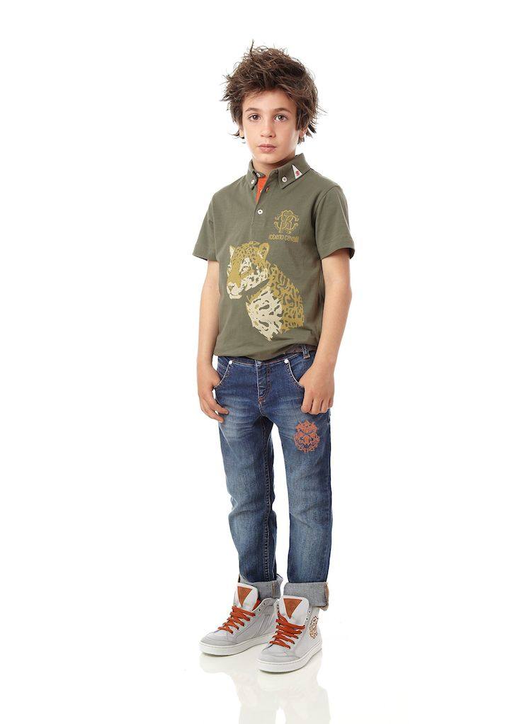 Roberto Cavalli Junior_Boy SS 2015
