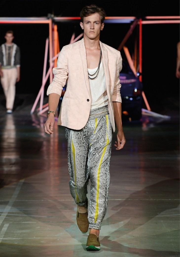 Roberto Cavalli Menswear SS 2015 (2)