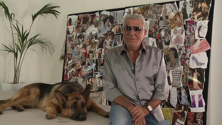 Roberto Cavalli with Lupo