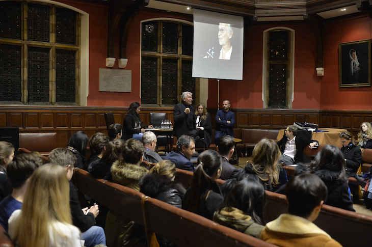 Roberto Cavalli - Lectio Magistralis at the Oxford Union