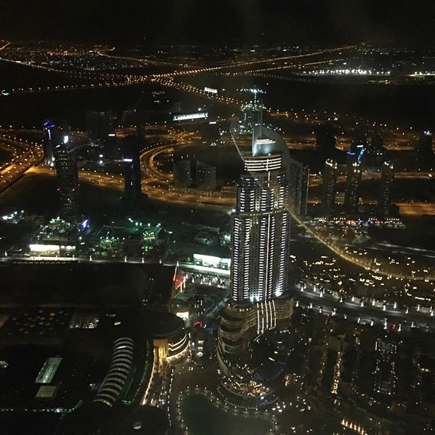 Dubai from 103 floor