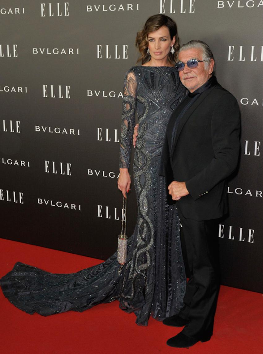 Nieves Alvarez Roberto-Cavalli@Elle-Style-Awards-in-Madrid-2014-10-23